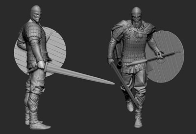 War of the Vikings - Zbrush Poses