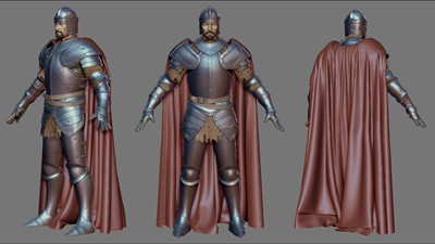 Lord of Ultima - Zbrush Screen