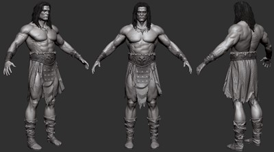 Conan - Zbrush Screen