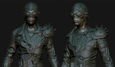 Mutant: Year Zero - Zbrush Screens