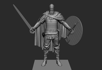 War of the Vikings - Zbrush Screen